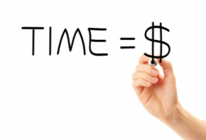 time is $